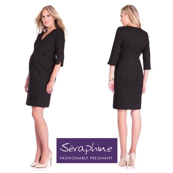 a87e1936d504a Seraphine Dresses | Maternity Tailored Career Work Dress 4 | Poshmark